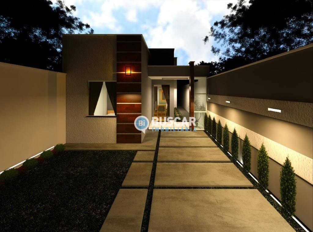 Casa com 2 dormitórios à venda, 55 m² por R$ 130.000 - Mangabeira - Feira de Santana/BA