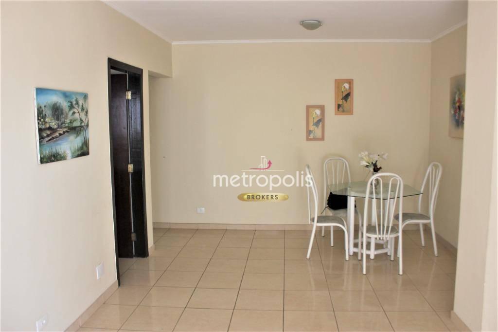 Apartamento com 2 dormitórios para alugar, 91 m² por R$ 1.300,00/mês - Jardim - Santo André/SP