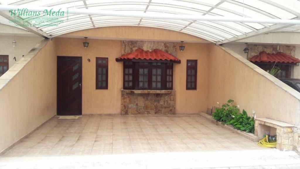Sobrado em condomínio com 3 dormitórios à venda, 116 m² por R$ 570.000 - Cidade Brasil - Guarulhos/SP