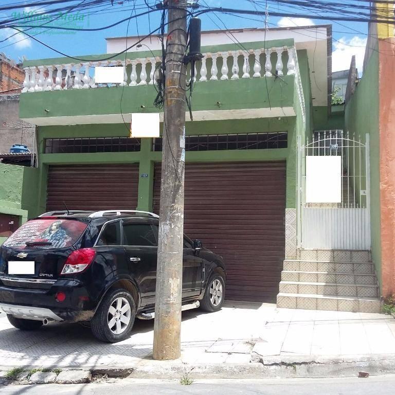 Salão comercial para locação, Jardim Paraíso, Guarulhos.