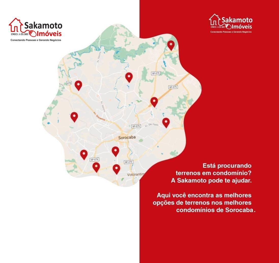 excelente terreno a venda no condomínio mont blanc em sorocaba!terreno com 360 m² na parte alta...