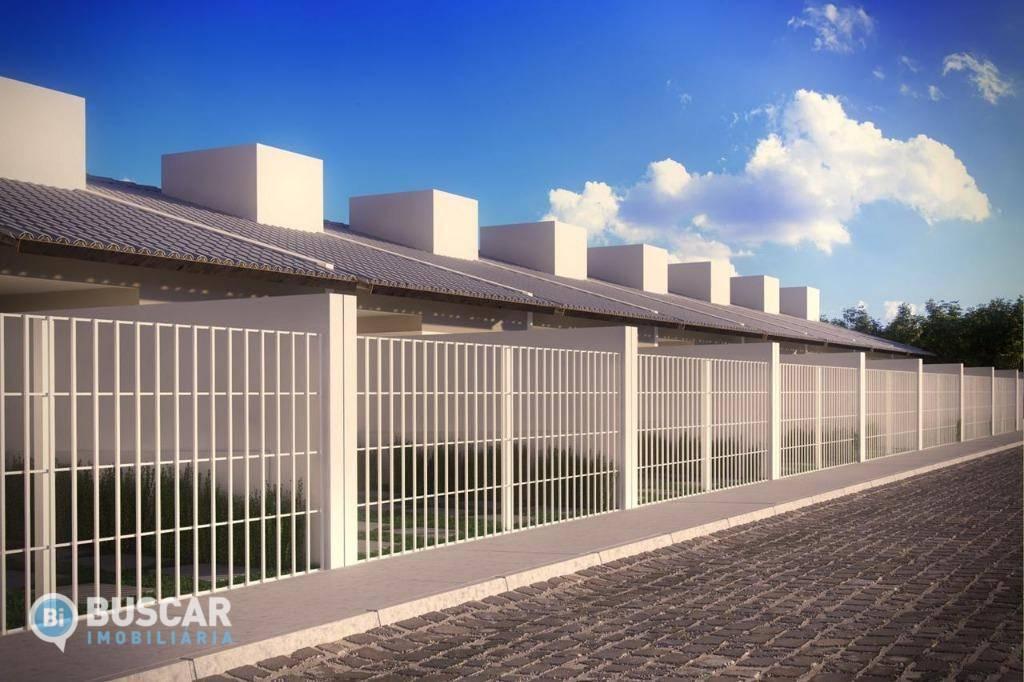 Casa com 2 dormitórios à venda, 60 m² por R$ 129.900 - Sim - Feira de Santana/BA
