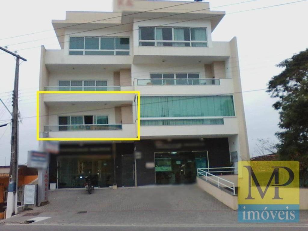 Apartamento com 3 dormitórios à venda, 124 m² por R$ 410.000 - Centro - Penha/SC