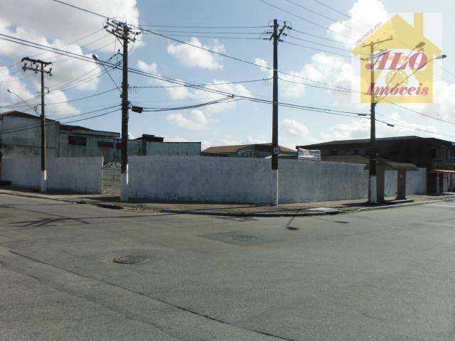 Terreno  rural para locação, Sítio do Campo, Praia Grande.