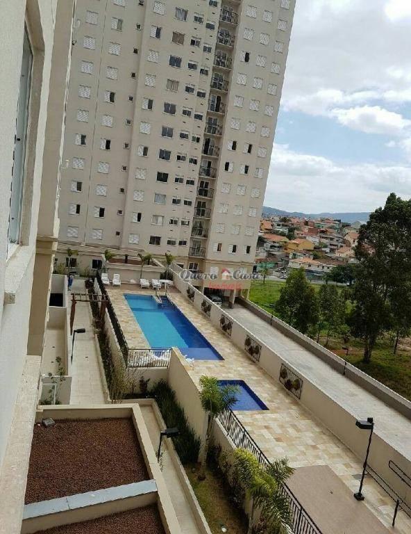 Apartamento residencial à venda, Jardim Las Vegas, Guarulhos