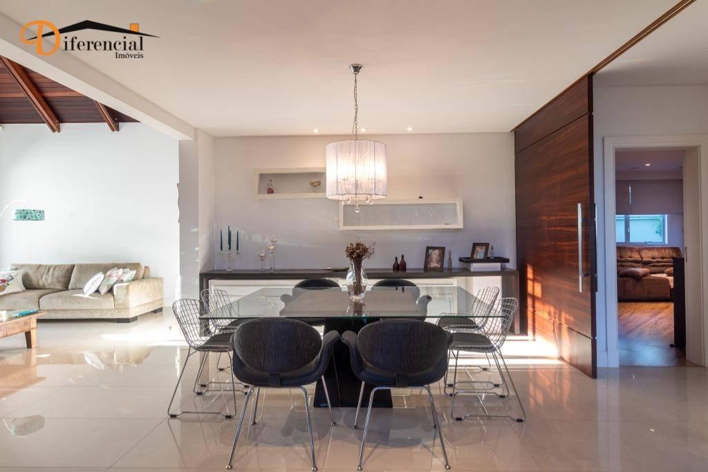 Casa com 5 dormitórios à venda, 750 m² por R$ 3.990.000,00 - Santa Felicidade - Curitiba/PR