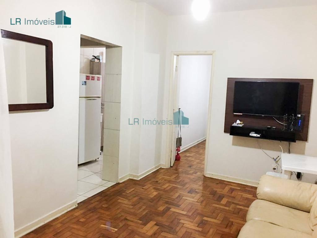 Apartamento com 1 dormitório para alugar, 49 m² por R$ 185,00/dia - Aviação - Praia Grande/SP