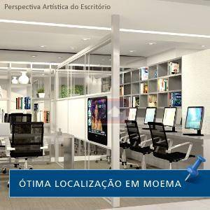 Sala à venda em Moema, São Paulo - SP