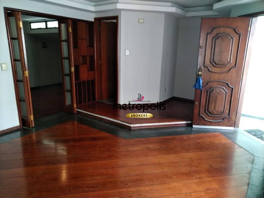 Sobrado com 3 dormitórios para alugar, 250 m² por R$ 3.200/mês - Santa Paula - São Caetano do Sul/SP