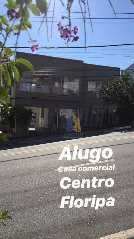 Loja para alugar, 176 m² por R$ 10.000,00/mês - Centro - Florianópolis/SC
