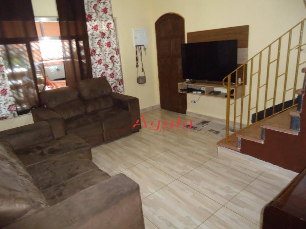 Sobrado com 2 dormitórios à venda, 122 m² por R$ 380.000 - Jardim do Estádio - Santo André/SP