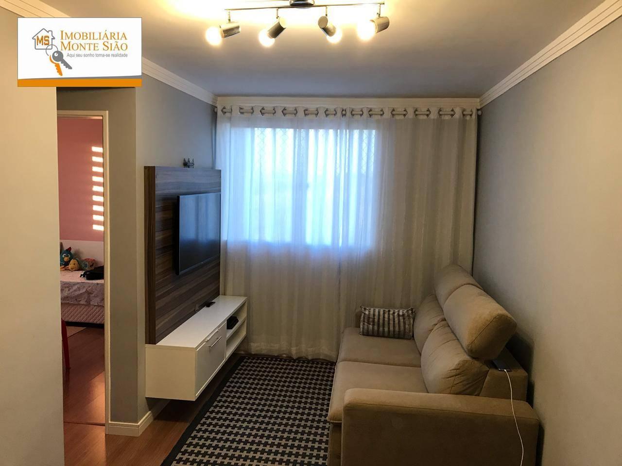 Apartamento com 2 dormitórios à venda, 47 m² por R$ 215.000 - Jardim Presidente Dutra - Guarulhos/SP