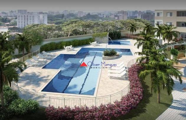 Apartamento à venda, 52 m² por R$ 350.000,00 - Presidente Altino - Osasco/SP