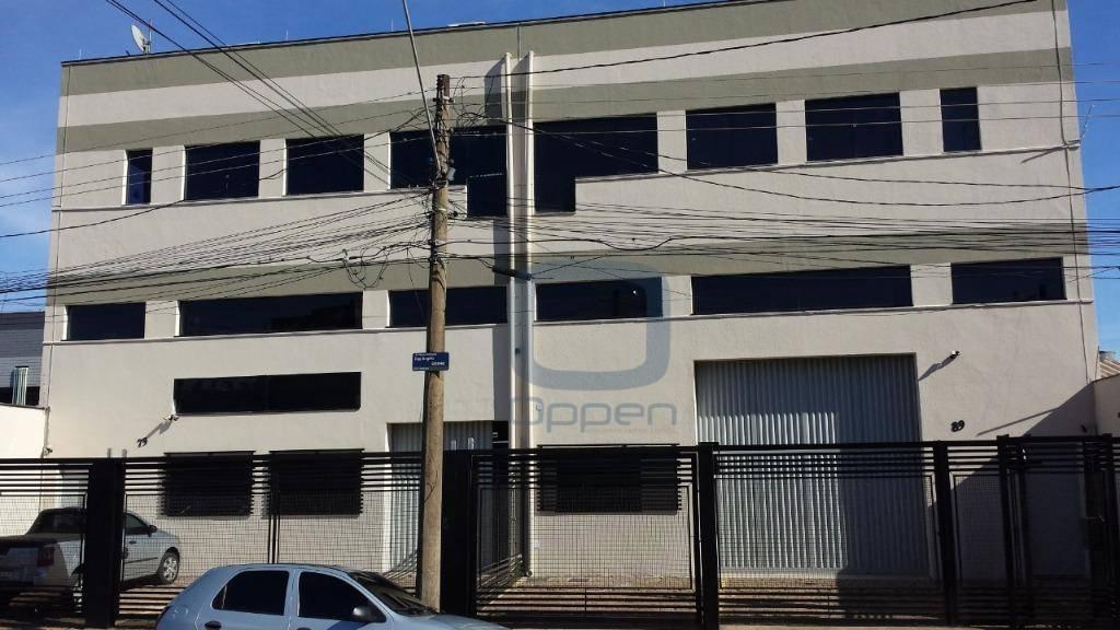 Excelente Barracão para Locação ?  Jardim Myrian Moreira da Costa, Campinas-SP