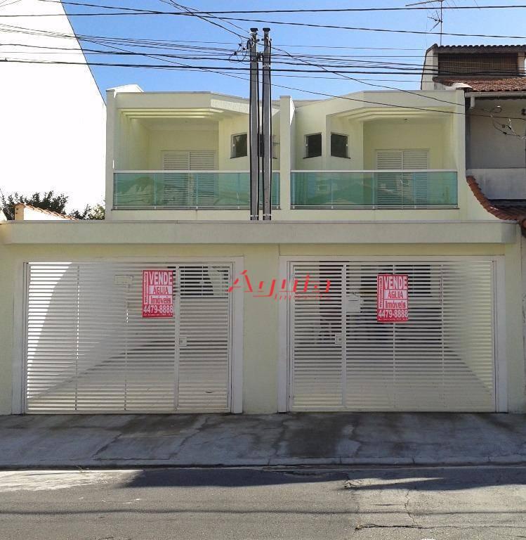 Sobrado Residencial à venda, Vila Curuçá, Santo André - SO0197.