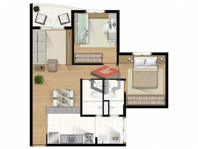 Apartamento de 3 dormitórios à venda em Assunção, São Bernardo Do Campo - SP