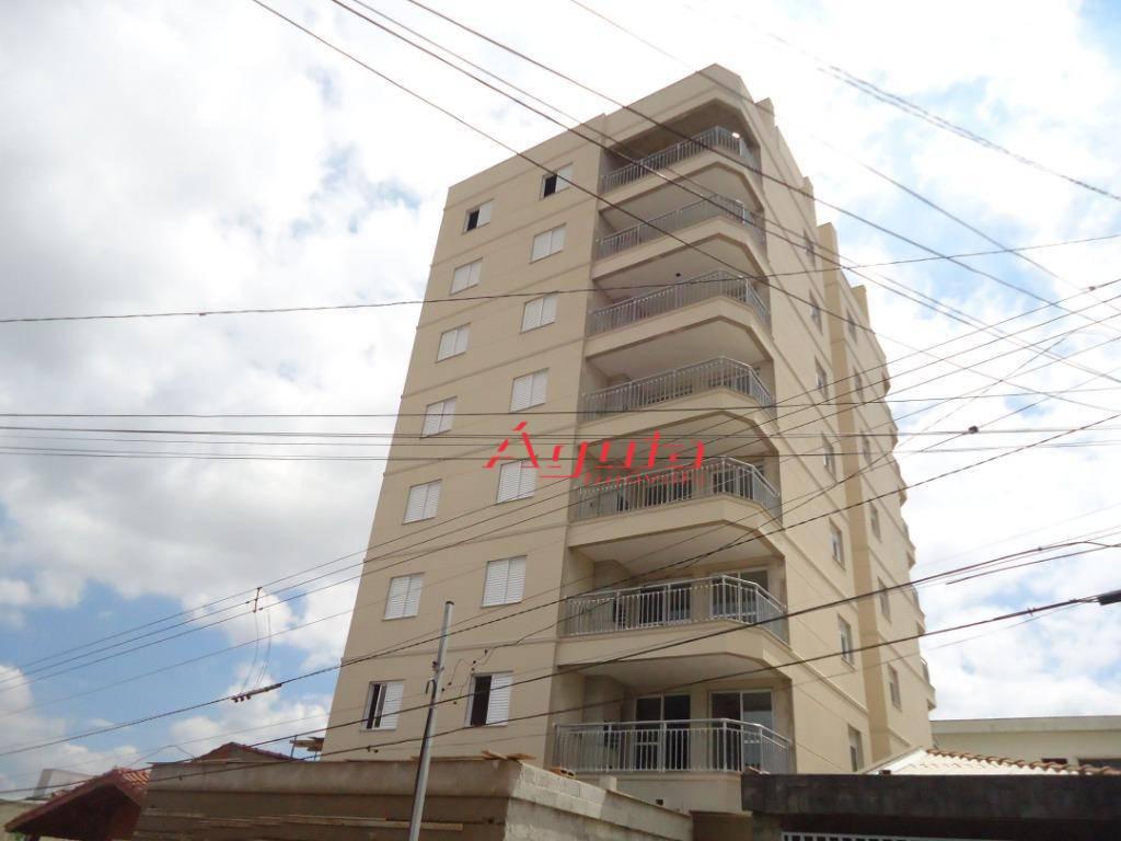 Apartamento com 3 dormitórios à venda, 82 m² por R$ 420.000 - Parque São Vicente - Mauá/SP