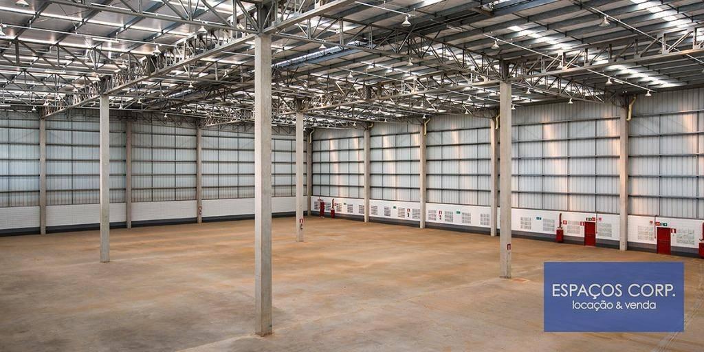 Galpão logístico para alugar, 1.543m² - Real Park - Sumaré/SP