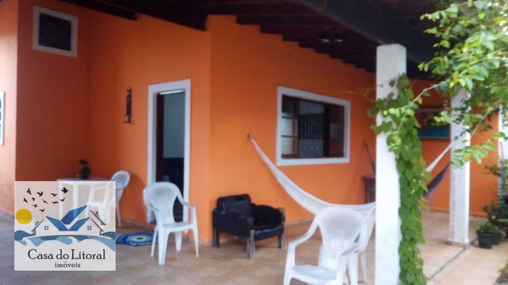 Casa com 2 dormitórios à venda, 143 m² por R$ 290.000 - Jardim das Palmeiras - Itanhaém/SP