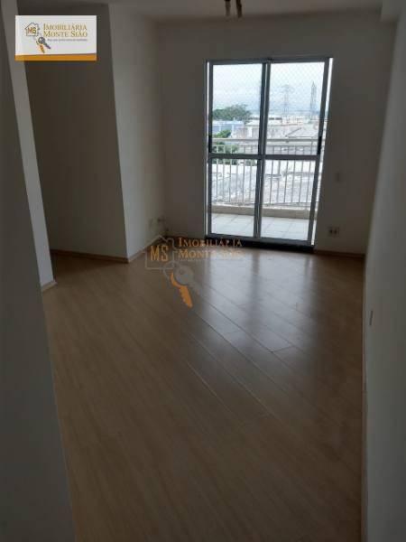 Apartamento com 3 dormitórios, 61 m² - venda por R$ 315.000,00 ou aluguel por R$ 1.800,00 - Vila Endres - Guarulhos/SP