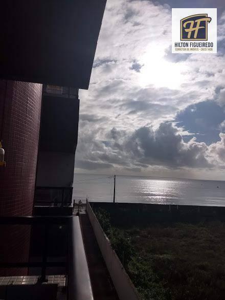 Vendo apartos à beira mar do Bessa. 3 qrtos suites com ar condicionado, dce completo, 160 m² de  área, semi mobiliado, todo projetados, R$ 570.00 mil