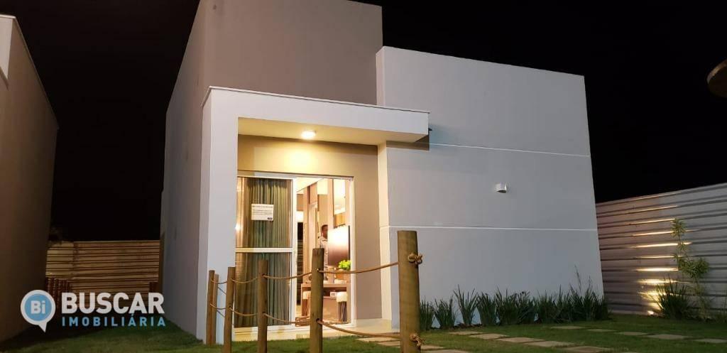 Casa com 2 dormitórios à venda, 50 m² por R$ 125.000 - Papagaio - Feira de Santana/BA
