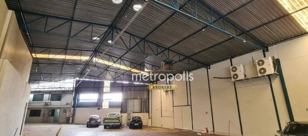 Galpão para alugar, 1435 m² por R$ 30.000,00/mês - Santa Paula - São Caetano do Sul/SP
