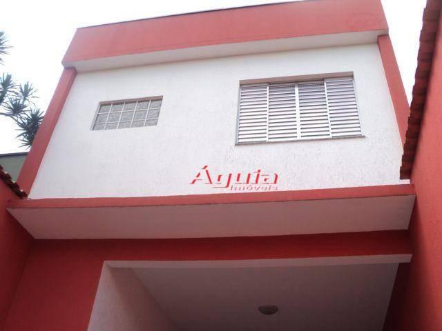Sobrado com 3 dormitórios à venda, 165 m² por R$ 485.000,00 - Parque Novo Oratório - Santo André/SP