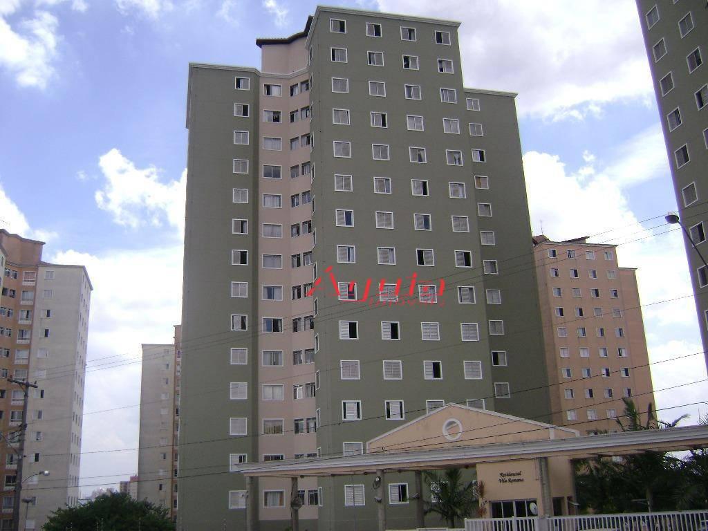 Apartamento com 3 dormitórios à venda, 60 m² por R$ 275.000 - Parque Marajoara - Santo André/SP