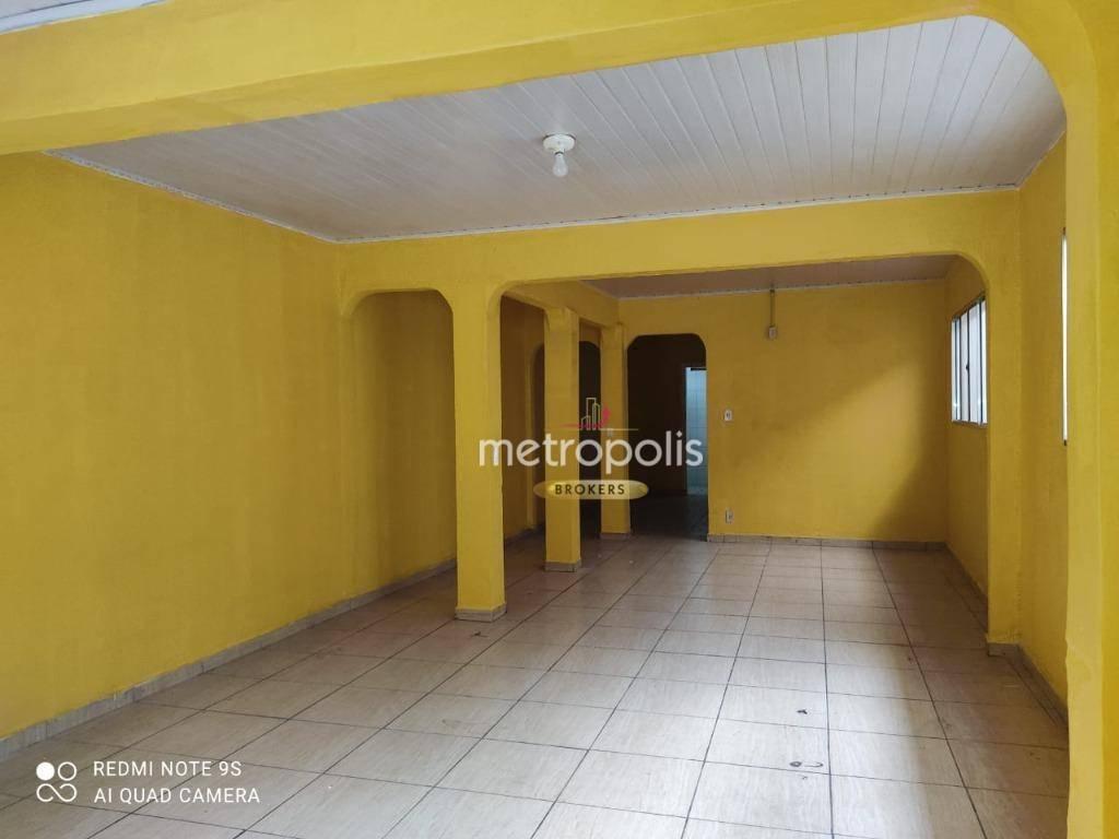Sobrado para alugar, 350 m² por R$ 2.700,00/mês - Santa Paula - São Caetano do Sul/SP