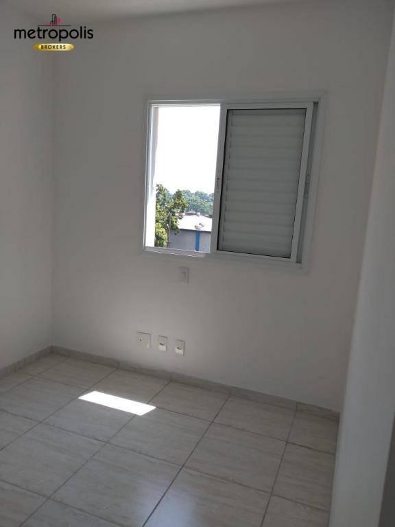 Apartamento com 3 dormitórios para alugar, 76 m² por R$ 2.000/mês - Campestre - Santo André/SP