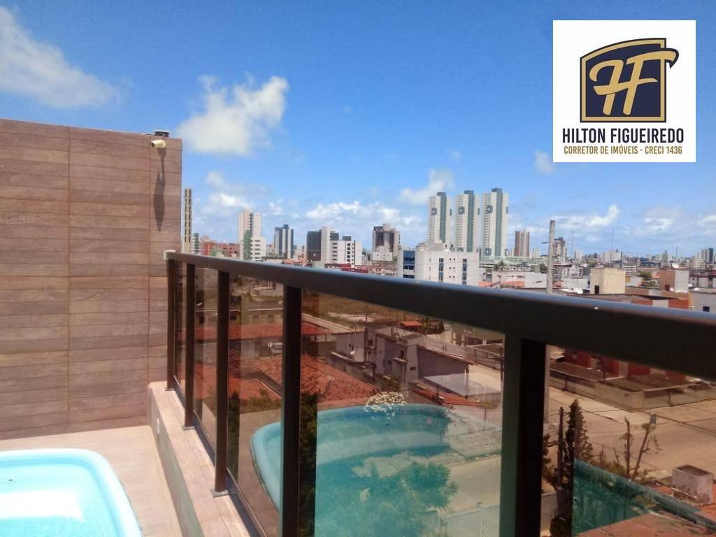 Apartamento com 2 dormitórios à venda, 60 m² por R$ 249.000,00 - Bessa - João Pessoa/PB