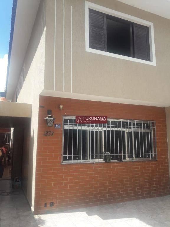 Sobrado com 3 dormitórios para alugar, 250 m² por R$ 2.200/mês - Vila Yaya - Guarulhos/SP