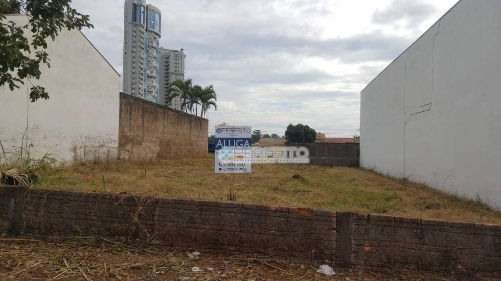 Terreno para alugar em Londrina no Bela Suiça, 500 m² por R$ 1.500,00/mês