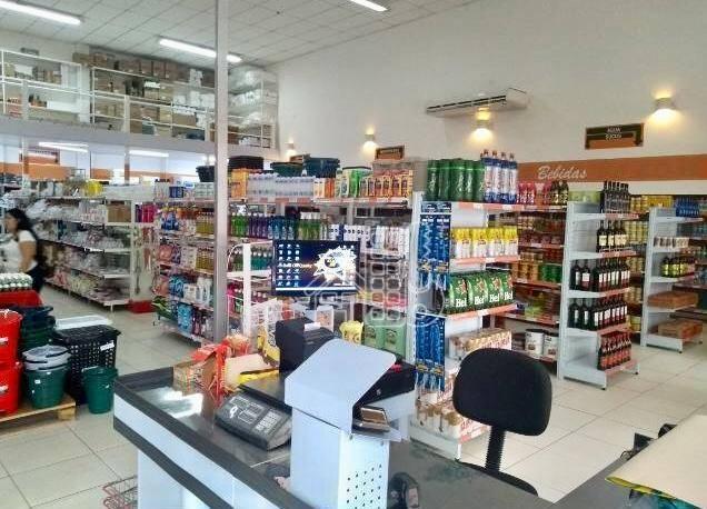 Excelente supermercado todo montado