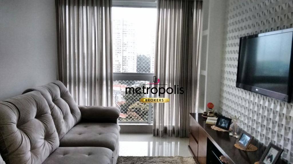 Apartamento à venda, 88 m² por R$ 515.000,00 - Campestre - Santo André/SP