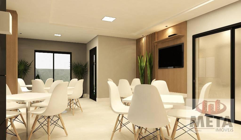 Apartamento com 3 Dormitórios à venda, 96 m² por R$ 492.673,00
