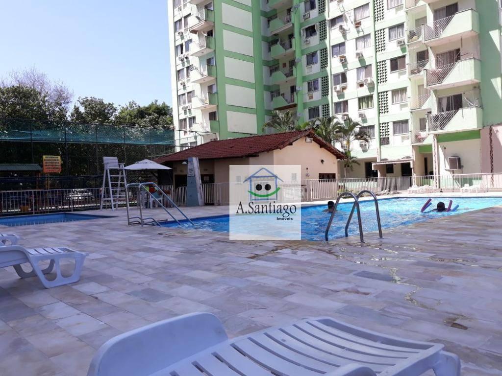 Apartamento 2 quartos, varanda 1 vaga  à venda, Itanhangá, R