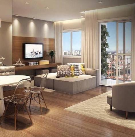Apartamento com 2 dormitórios à venda, 68 m² por R$ 625.000,00 - Cerâmica - São Caetano do Sul/SP