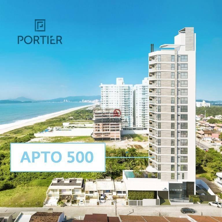 Apartamento com 3 dormitórios à venda, 108 m² por R$ 725.586 - Itacolomi - Balneário Piçarras/SC