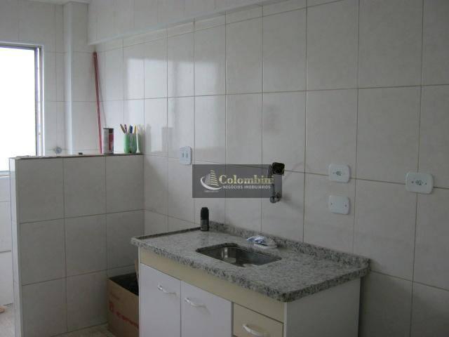 Apartamento com 2 dormitórios à venda, 60 m² - Jardim Stetel - Santo André/SP