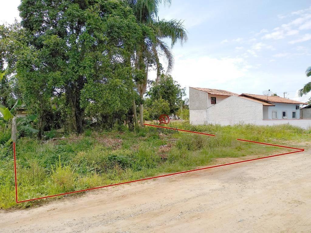 Terreno à venda, 280 m² por R$ 115.000  Rua Luiz Eugênio Ribas - Los Angeles - Barra Velha/SC