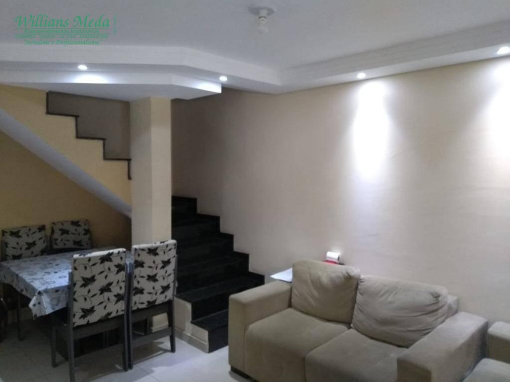 Sobrado com 2 dormitórios à venda, 70 m² por R$ 250.000,00 - Jardim Adriana - Guarulhos/SP