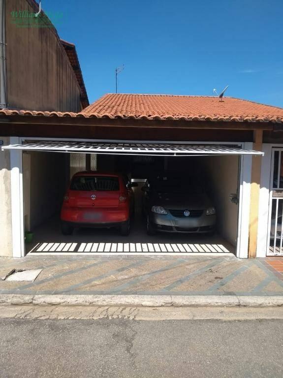 Casa Térrea com 2 dormitórios à venda, 94 m² por R$ 360.000 - Jardim Santa Clara - Guarulhos/SP