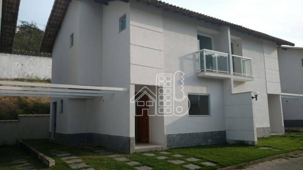 Casa com 3 dormitórios à venda, 100 m² por R$ 275.000,00 - Maria Paula - São Gonçalo/RJ