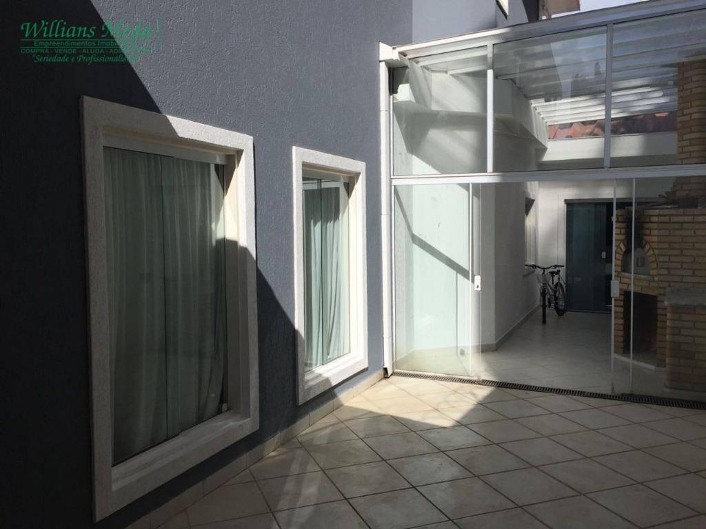 Sobrado residencial à venda, Vila Rosália, Guarulhos - SO0532.