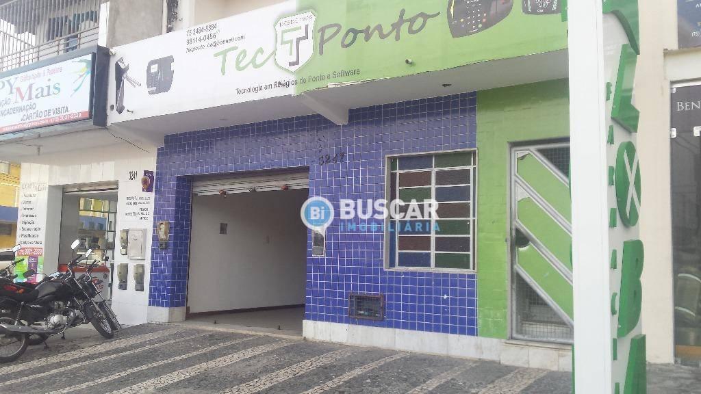 Loja, 180 m² - venda por R$ 600.000,00 ou aluguel por R$ 3.000,00/mês - São João - Feira de Santana/BA
