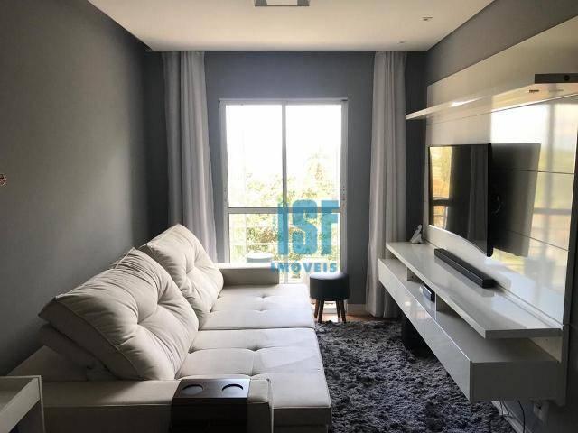 Apartamento com 2 dormitórios à venda, 49 m² por R$ 270.000 - Jardim dos Ipês - Cotia/SP - AP24906.