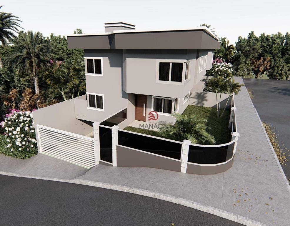 Sobrado com 2 dormitórios à venda, 93 m² por R$ 300.000 - Centro - Barra Velha/SC