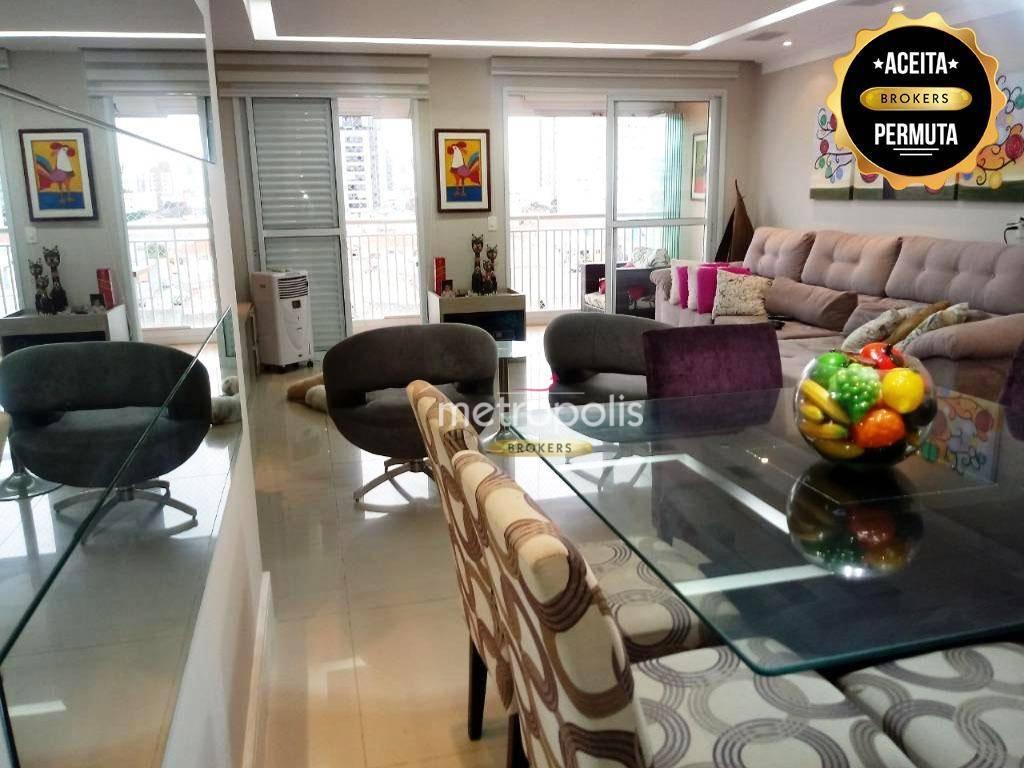 Apartamento à venda, 118 m² por R$ 870.000,00 - Santa Paula - São Caetano do Sul/SP